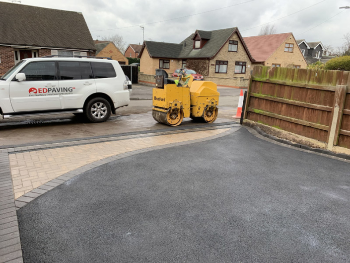 tarmac driveway installed in Long Eaton