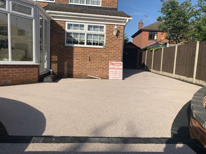 resin driveway in Toton Nottingham